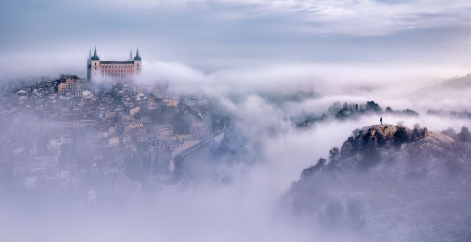 Toledo City Foggy Morning